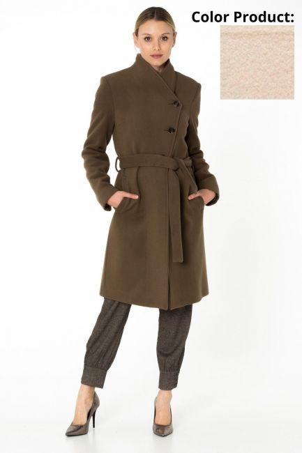 Cappotto Donna Cristina Gavioli CA0062 burro
