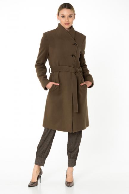 Cappotto Donna Cristina Gavioli CA0062 fango
