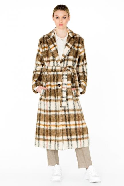 Cappotto Donna Cristina Gavioli CA0063 multicolore