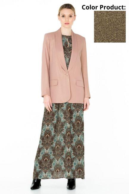 Woman Jacket Cristina Gavioli CA0066 nero/oro