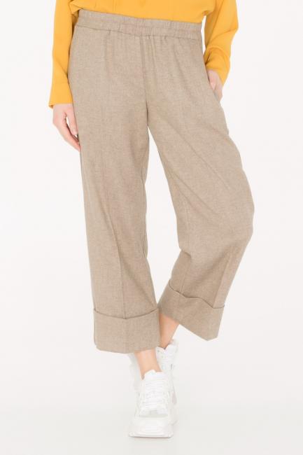 Pantalone Donna Cristina Gavioli CA0073 sabbia