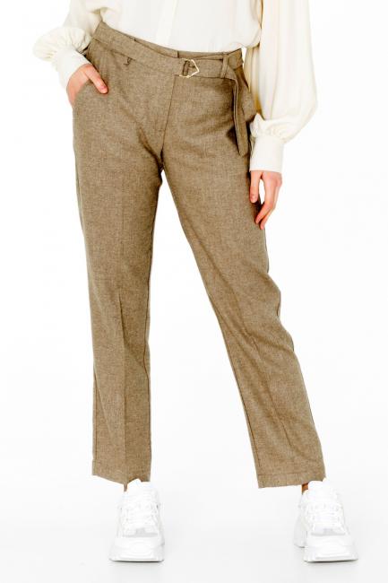 Pantalone Donna Cristina Gavioli CA0074 sabbia