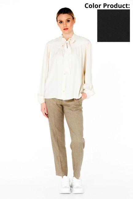 Woman Shirt Cristina Gavioli CA0077 nero