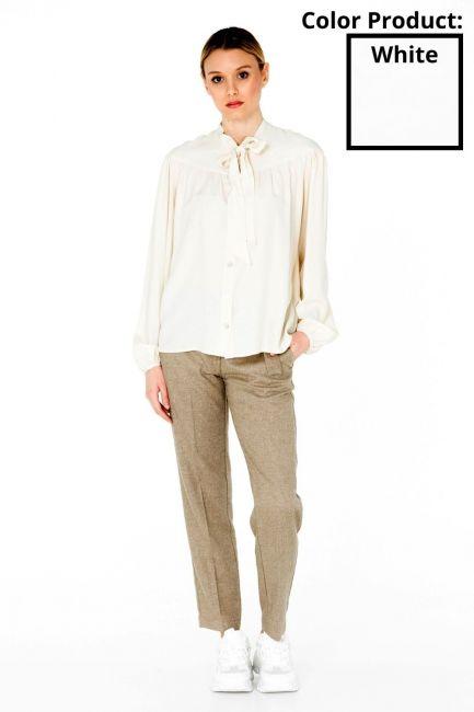 Camicia Donna Cristina Gavioli CA0077 bianco