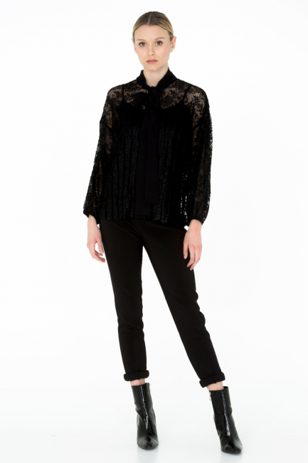 Camicia Donna Cristina Gavioli CA0087 nero