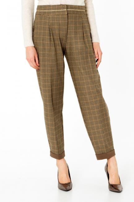 Pantalone Donna Cristina Gavioli CA0099 marrone