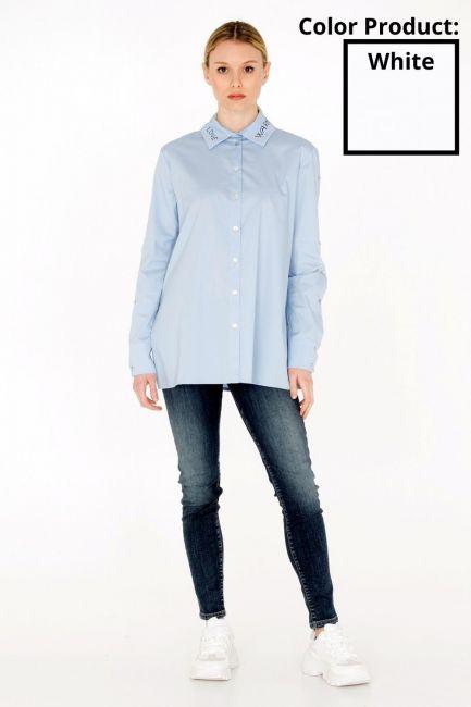 Woman Shirt Cristina Gavioli JA0008 bianco
