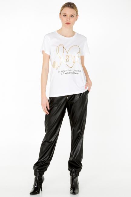 T-shirt Donna Cristina Gavioli JA0012 bianco