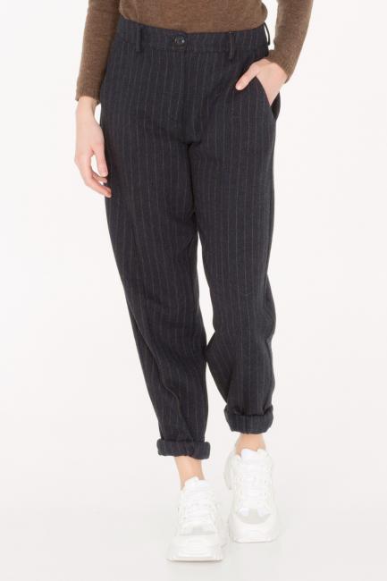 Pantalone Donna Cristina Gavioli JA0019 grigio