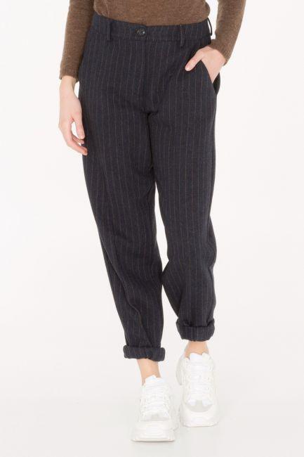 Pantalone Donna Cristina Gavioli JA0019 blu