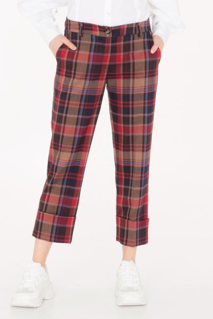 Pantalone Donna Cristina Gavioli JA0025 multicolore
