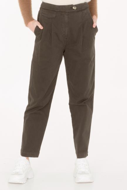 Pantalone Donna Cristina Gavioli JA0035 verde