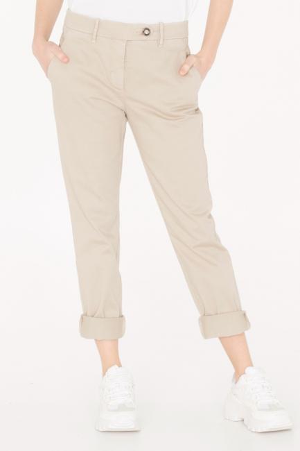 Pantalone Donna Cristina Gavioli JA0036 sabbia