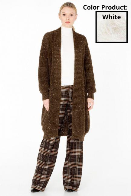 Woman Coat Cristina Gavioli KA0040 naturale