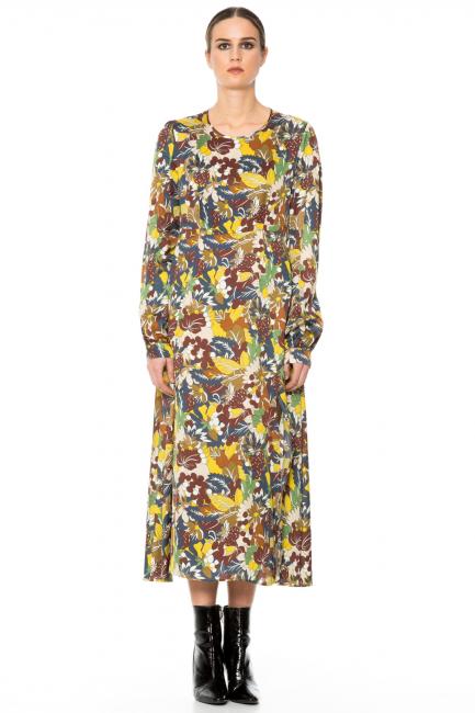 Dress Woman Cristina Gavioli CA1001 Multicolore