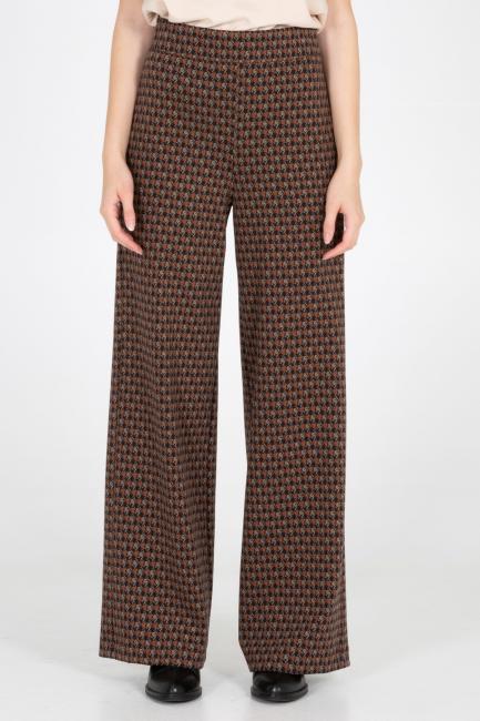 Trousers Woman Cristina Gavioli CA1008 Marrone