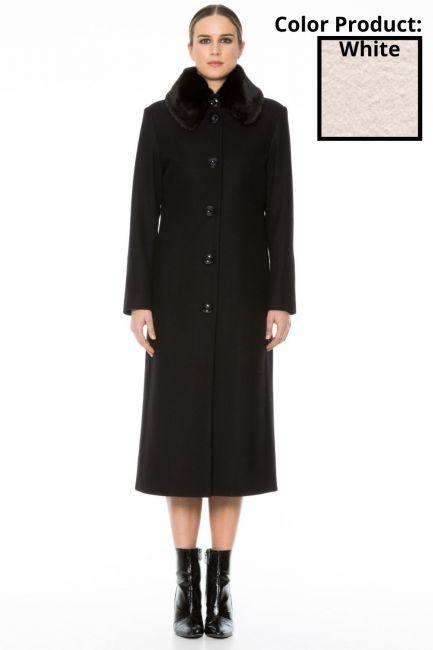 Coat Woman Cristina Gavioli CA1010 Naturale