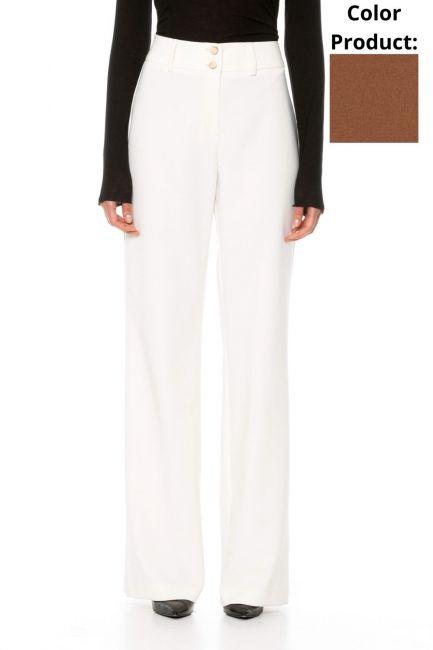 Trousers Woman Cristina Gavioli CA1014 Coccio