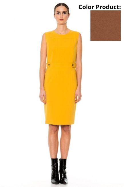 Dress Woman Cristina Gavioli CA1015 Coccio
