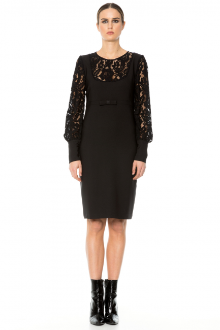 Dress Woman Cristina Gavioli CA1018 Nero