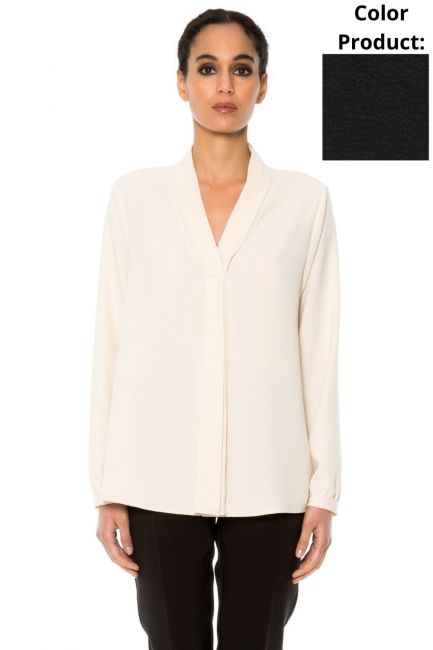 Shirt Woman Cristina Gavioli CA1026 Nero