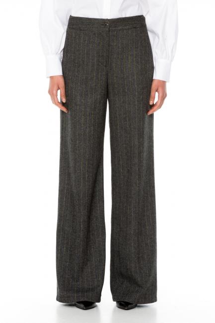 Trousers Woman Cristina Gavioli CA1030 Grigio