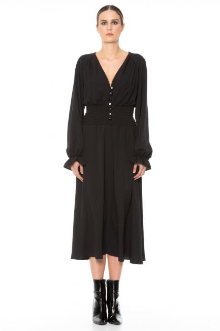 Dress Woman Cristina Gavioli CA1035 Nero