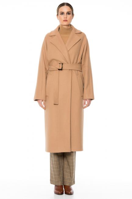 Coat Woman Cristina Gavioli CA1039 Cammello
