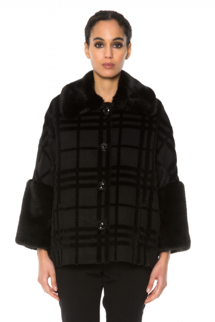 Coat Woman Cristina Gavioli CA1042 Nero