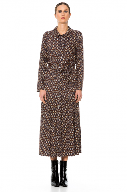 Dress Woman Cristina Gavioli CA1058 Moro/avorio