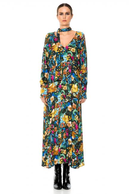 Dress Woman Cristina Gavioli CA1070 Multicolore