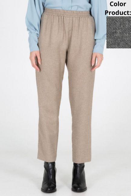 Trousers Woman Cristina Gavioli CA1077 Nero