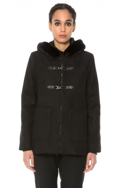 Coat Woman Cristina Gavioli CA1094 Nero