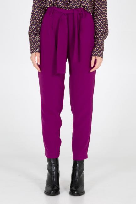 Trousers Woman Cristina Gavioli CA1095 Lampone