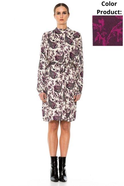 Dress Woman Cristina Gavioli JA1005 Lampone/fuxia