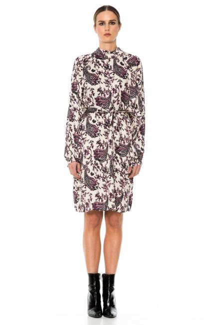 Dress Woman Cristina Gavioli JA1005 Blu/naturale