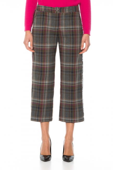 Trousers Woman Cristina Gavioli JA1008 Grigio