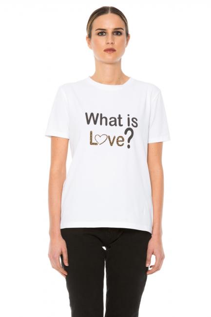 T-shirt Woman Cristina Gavioli JA1013 Bianco