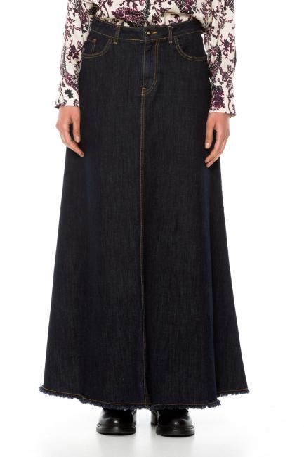 Skirt Woman Cristina Gavioli JA1015 Blu