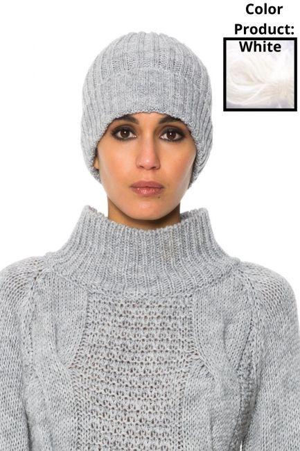 Hat Woman Cristina Gavioli JA1501 Bianco