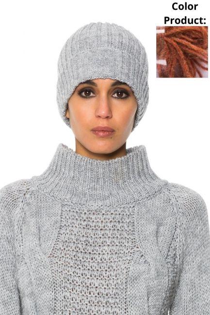 Hat Woman Cristina Gavioli JA1501 Coccio