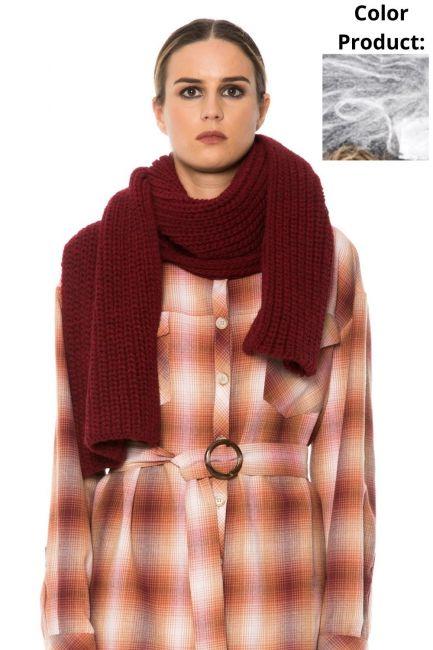 Scarf Woman Cristina Gavioli JA1513 Grigio
