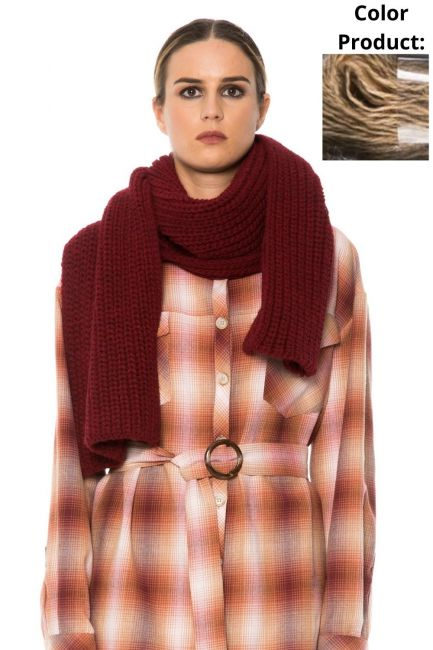 Scarf Woman Cristina Gavioli JA1513 Cammello