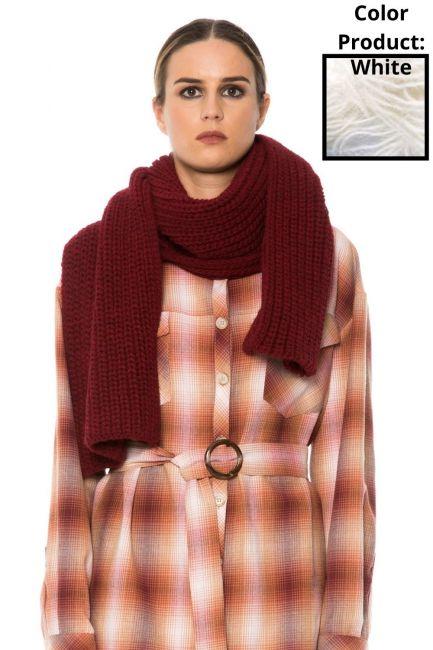 Scarf Woman Cristina Gavioli JA1513 Panna