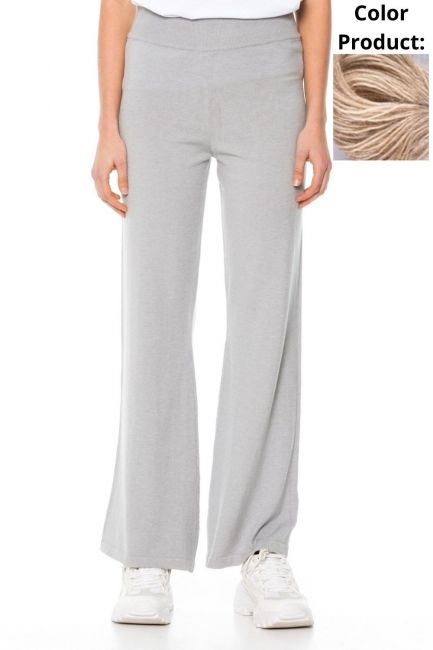 Trousers Woman Cristina Gavioli KA1037 Beige