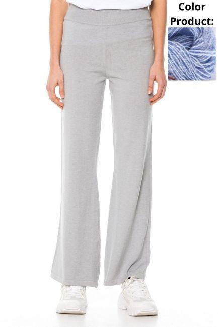 Trousers Woman Cristina Gavioli KA1037 Celeste