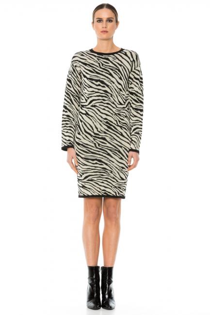 Dress Woman Cristina Gavioli KA1049 Bianco