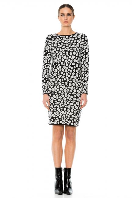 Dress Woman Cristina Gavioli KA1053 Nero