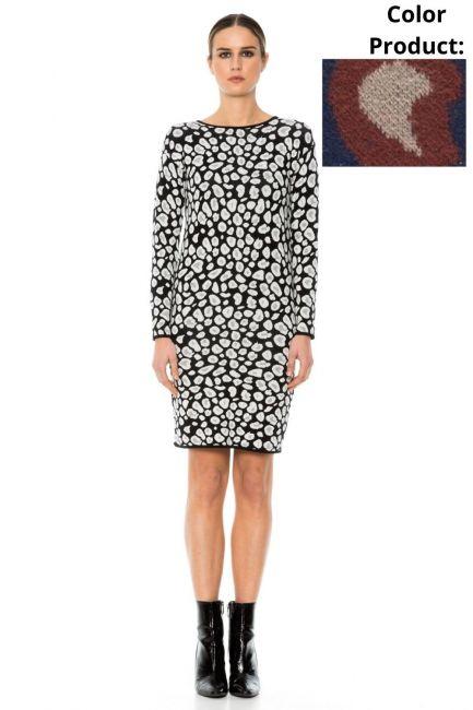 Dress Woman Cristina Gavioli KA1053 Blu