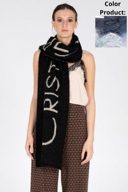 Scarf Woman Cristina Gavioli KA1054 Avio/celeste